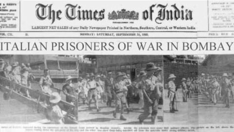 Il clima che si respirava in India dall'inizio del 1943 era un clima di sostanziale depressione per le sorti belliche italiane